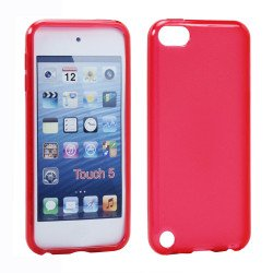 iPod Touch 5 TPU Gel Soft Case (Red)