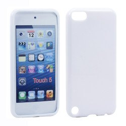 iPod Touch 5 TPU Gel Soft Case (White)