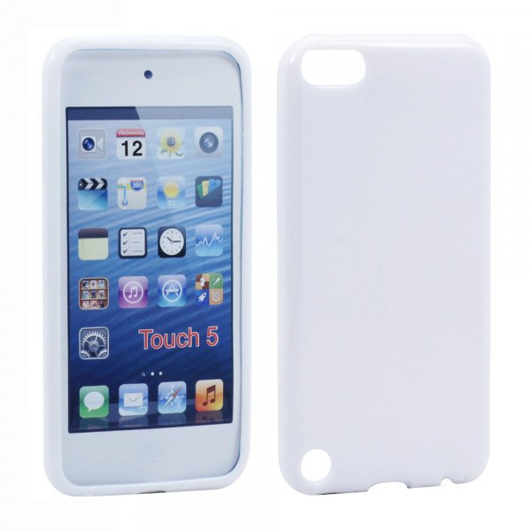 Wholesale iPod Touch 5 TPU Gel Soft Case (White)