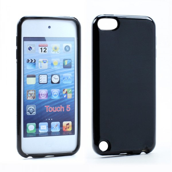 Wholesale iPod Touch 5 TPU Gel Soft Case (Black)