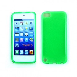 iPod Touch 5 TPU Gel Soft Case (Green)