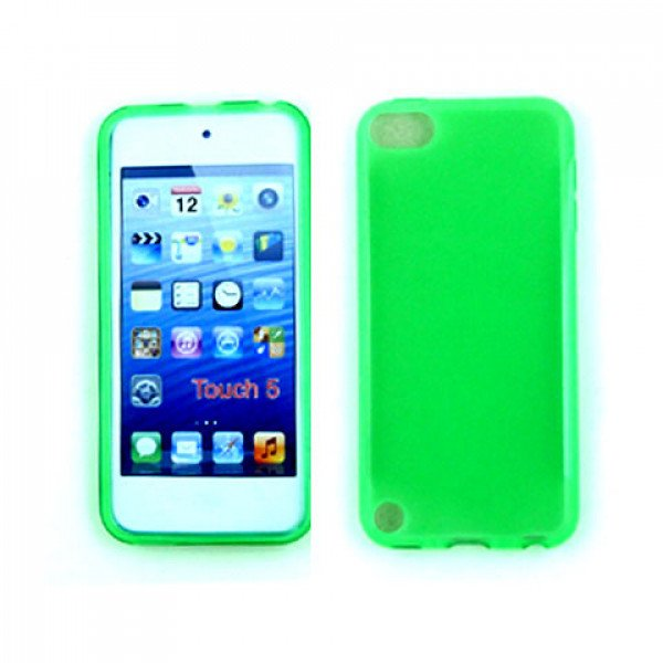 Wholesale iPod Touch 5 TPU Gel Soft Case (Green)
