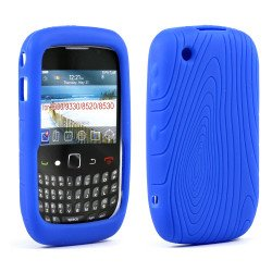 BlackBerry Curve 8520 8530 9300 9330 Silicone Soft Case (Blue)