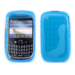 BlackBerry Curve 8520 8530 9300 9330 TPU Gel Case (Blue)
