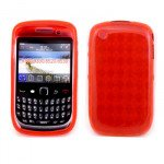 Wholesale BlackBerry Curve 8520 8530 9300 9330 TPU Gel Case (Red)