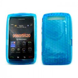 Gel Case  for BlackBerry Storm 9550 (Blue)
