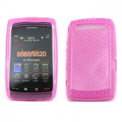 Gel Case  for BlackBerry Storm 9550 (Pink)