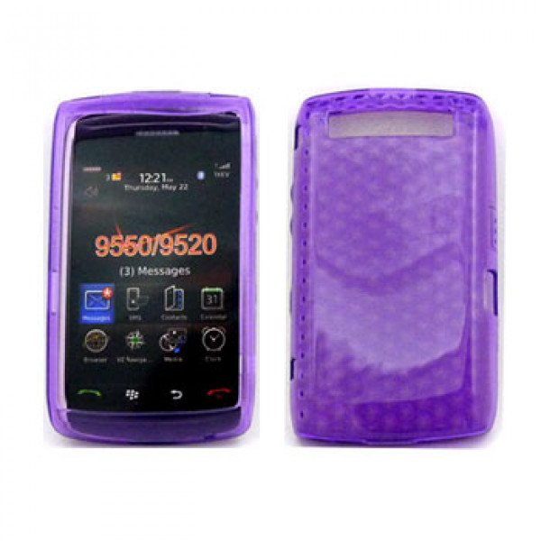 Wholesale Gel Case  for BlackBerry Storm 9550 (Purple)