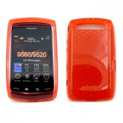 Gel Case  for BlackBerry Storm 9550 (Red)