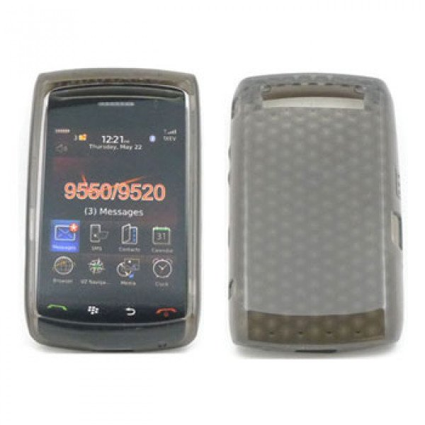 Wholesale Gel Case  for BlackBerry Storm 9550 (Smoke)