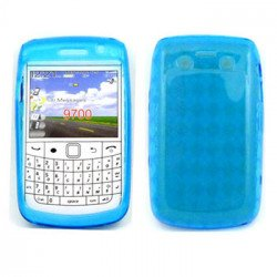 BlackBerry 9700 9780 TPU Gel Case (Blue)