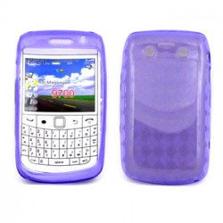 BlackBerry 9700 9780 TPU Gel Case (Purple)