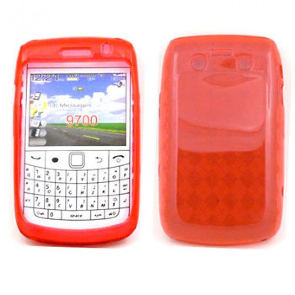 Wholesale BlackBerry 9700 9780 TPU Gel Case (Red)