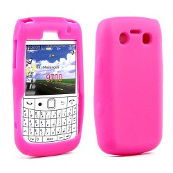BlackBerry Bold 9700 9780 Silicon Soft Case (Hot Pink)