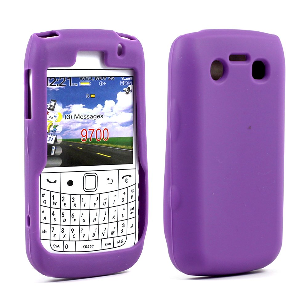 wholesale blackberry bold 9700 9780 silicon soft case purple. Black Bedroom Furniture Sets. Home Design Ideas