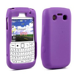 BlackBerry Bold 9700 9780 Silicon Soft Case (Purple)