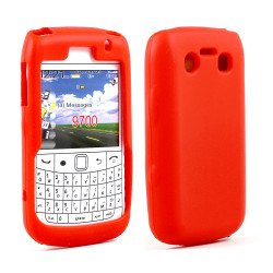 BlackBerry Bold 9700 9780 Silicon Soft Case (Red)