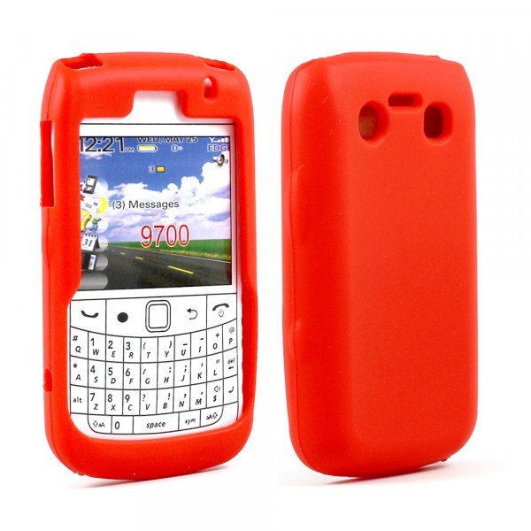 Wholesale BlackBerry Bold 9700 9780 Silicon Soft Case (Red)