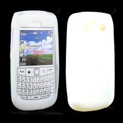 BlackBerry Bold 9700 9780 Silicon Soft Case (White)