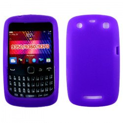 Blackberry Curve 9350 9360 Silicone Soft Case (Purple)