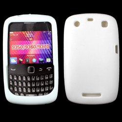 Blackberry Curve 9350 9360 Silicone Soft Case (White)