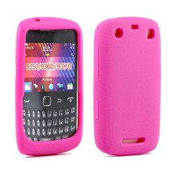 Blackberry Curve 9350 9360 Silicone Soft Case (Hot Pink)