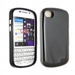 Wholesale Blackberry Q10 TPU Gel Case (Black)