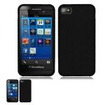 Wholesale Blackberry Z10 TPU Gel Case (Black)