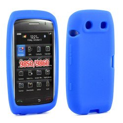 BlackBerry Torch 9850 9860 Silicon Soft Case (Blue)