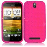 Wholesale HTC ONE SV TPU (Hot Pink)