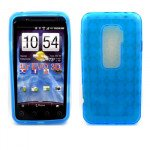 Wholesale Gel Case  for HTC Evo 3D(Blue)