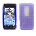 Wholesale Gel Case  for HTC Evo 3D(Purple)