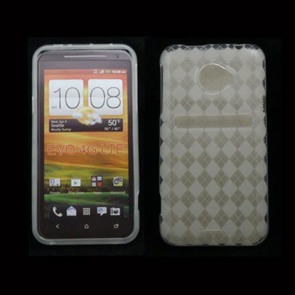 Wholesale HTC Evo 4G LTE Gel Case (Clear)