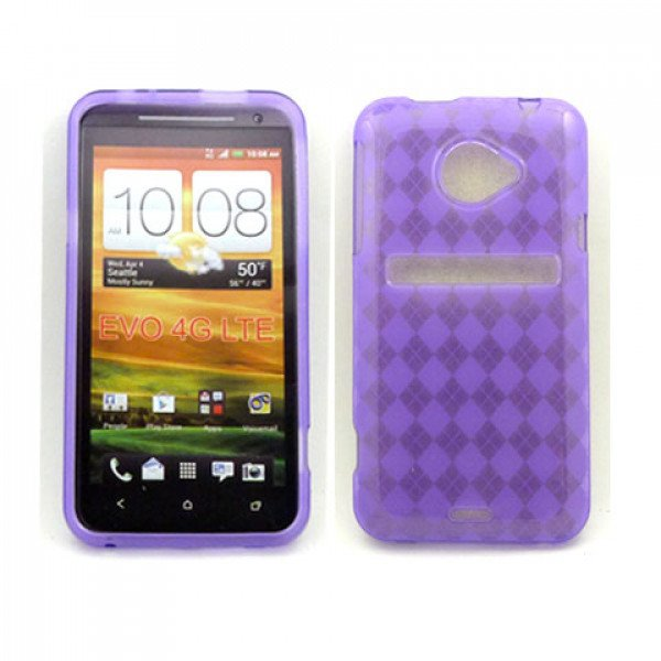 Wholesale HTC Evo 4G LTE Gel Case (Purple)