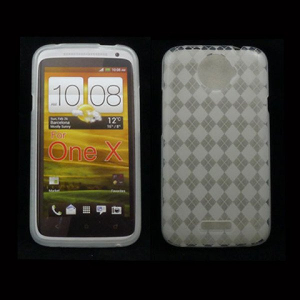 Wholesale Gel Case  for HTC One X(Clear)