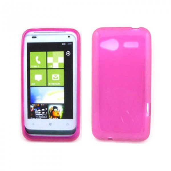 Wholesale HTC Radar Gel Case (Pink)
