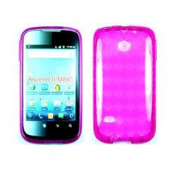 TPU Gel Case for Huawei Ascend II / M865 (Pink)