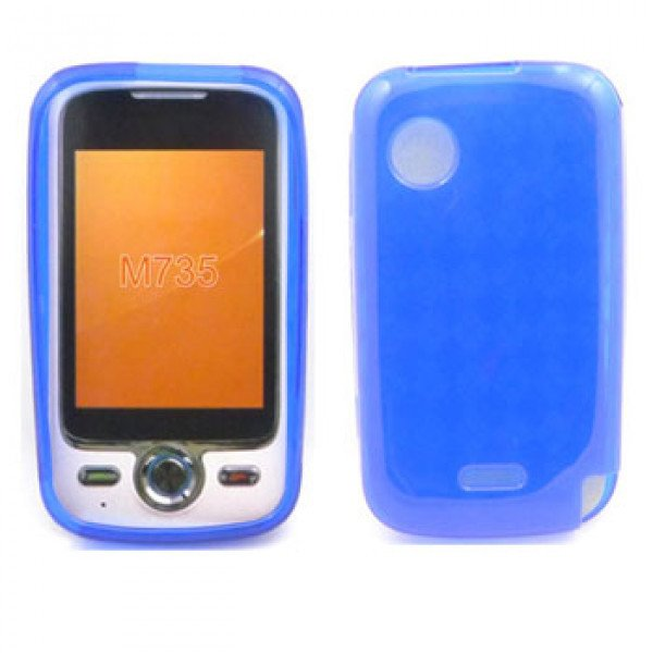 Wholesale TPU Gel Case for Huawei M735 (Blue)
