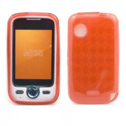TPU Gel Case for Huawei M735 (Red)