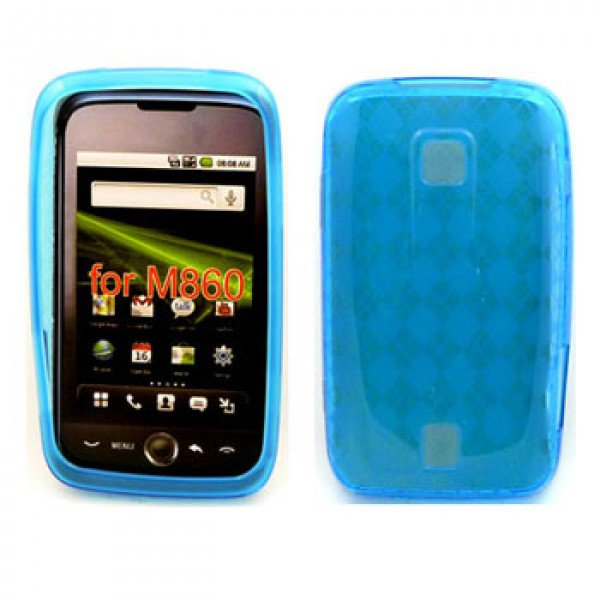 Wholesale Gel Case  for  HUAWEI Ascend M860 (Blue)