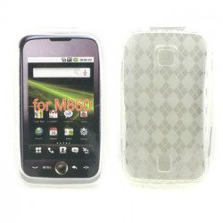 Gel Case  for  HUAWEI Ascend M860 (Clear)