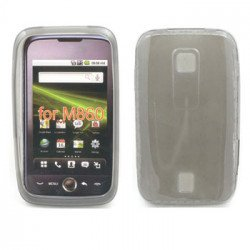 Gel Case  for  HUAWEI Ascend M860 (Gray)