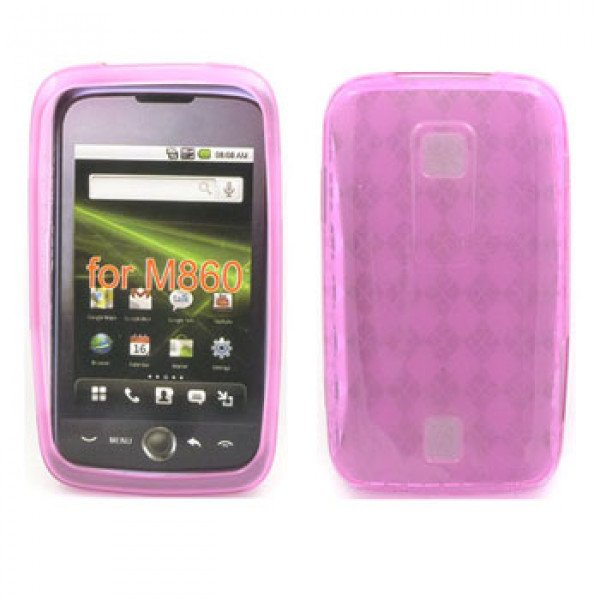 Wholesale Gel Case  for  HUAWEI Ascend M860 (Pink)