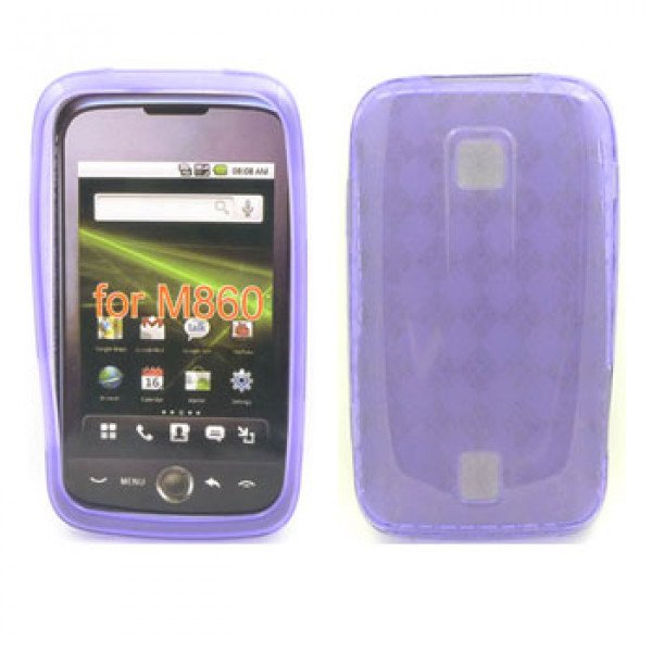 Wholesale Gel Case  for  HUAWEI Ascend M860 (Purple)