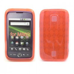 Gel Case  for  HUAWEI Ascend M860 (Red)