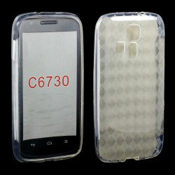 Kyocera Hydro Icon C6730 TPU Gel Case (Clear)