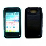 Wholesale TPU Gel Case for LG Motion 4G / MS770 (Black)