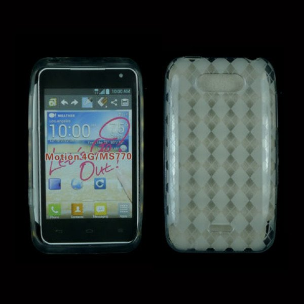 Wholesale TPU Gel Case for LG Motion 4G / MS770 (Clear)
