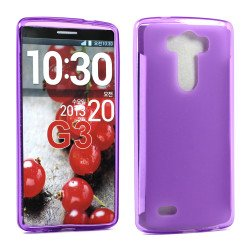 LG G3 TPU Gel Case (Purple)