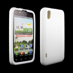 LG Marquee LS855 Silicon Soft Case (White)